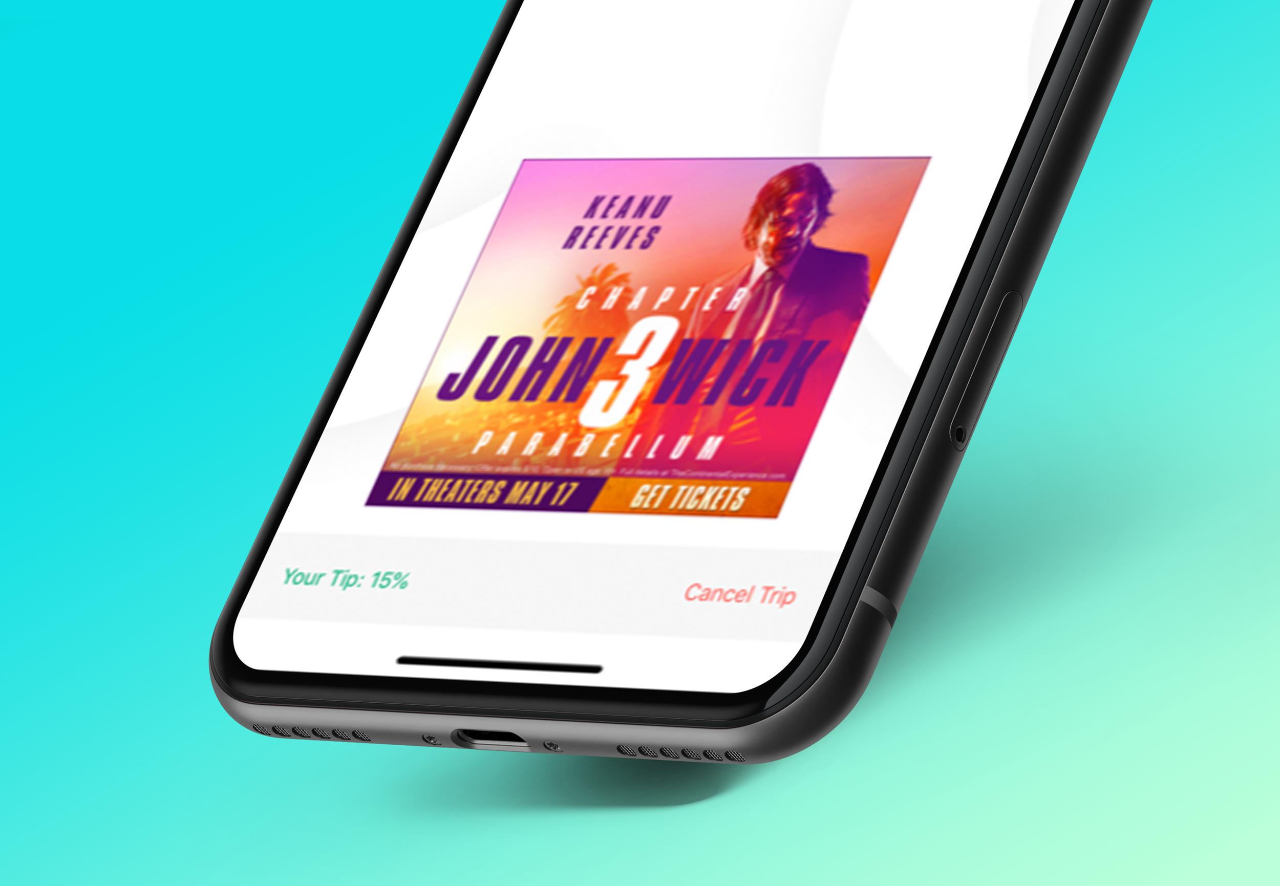 Curb App Mobile Display Ads