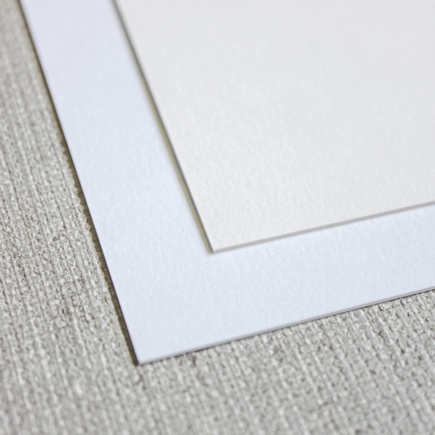 thick stock - Our thick stock for digital printing features a #240 eggshell paper in ultra white or standard white. Eggshell paper creates a subtle textured finish.