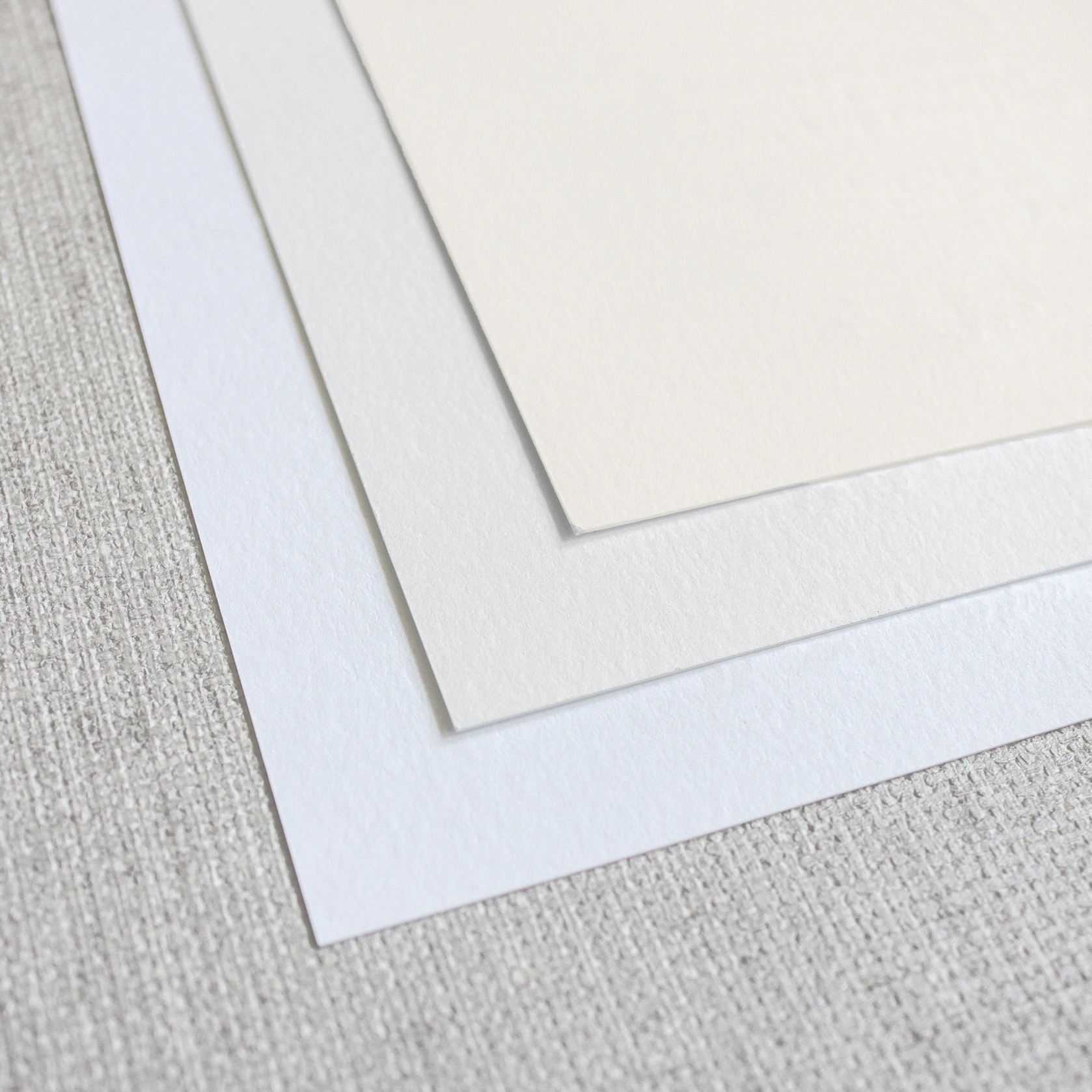 standard stock - Our standard stock for letterpress is a #110 cranes lettra in ultra white, standard white or ivory. Cranes lettra paper is soft to the touch and has a beautiful but smooth texture.