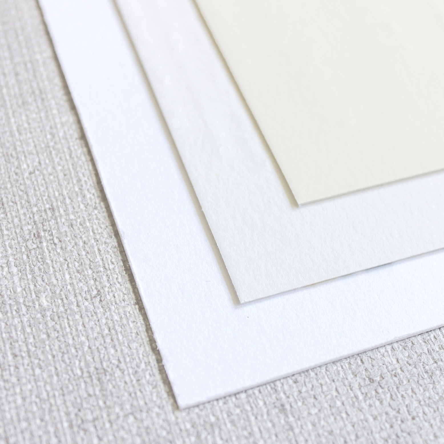 thick stock - Our thick stock for letterpress is a #220 cranes lettra in ultra white, standard white or ivory. Cranes lettra paper is soft to the touch and has a beautiful but smooth texture.