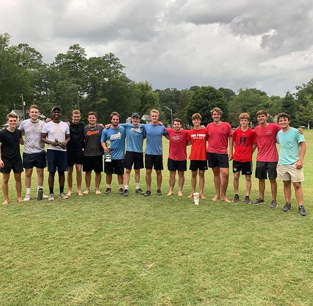 Congratulations to @bradleyhuffstutler @bradentreg on winning the spikeball tournament!! Thanks to everyone who participated. #spikeball