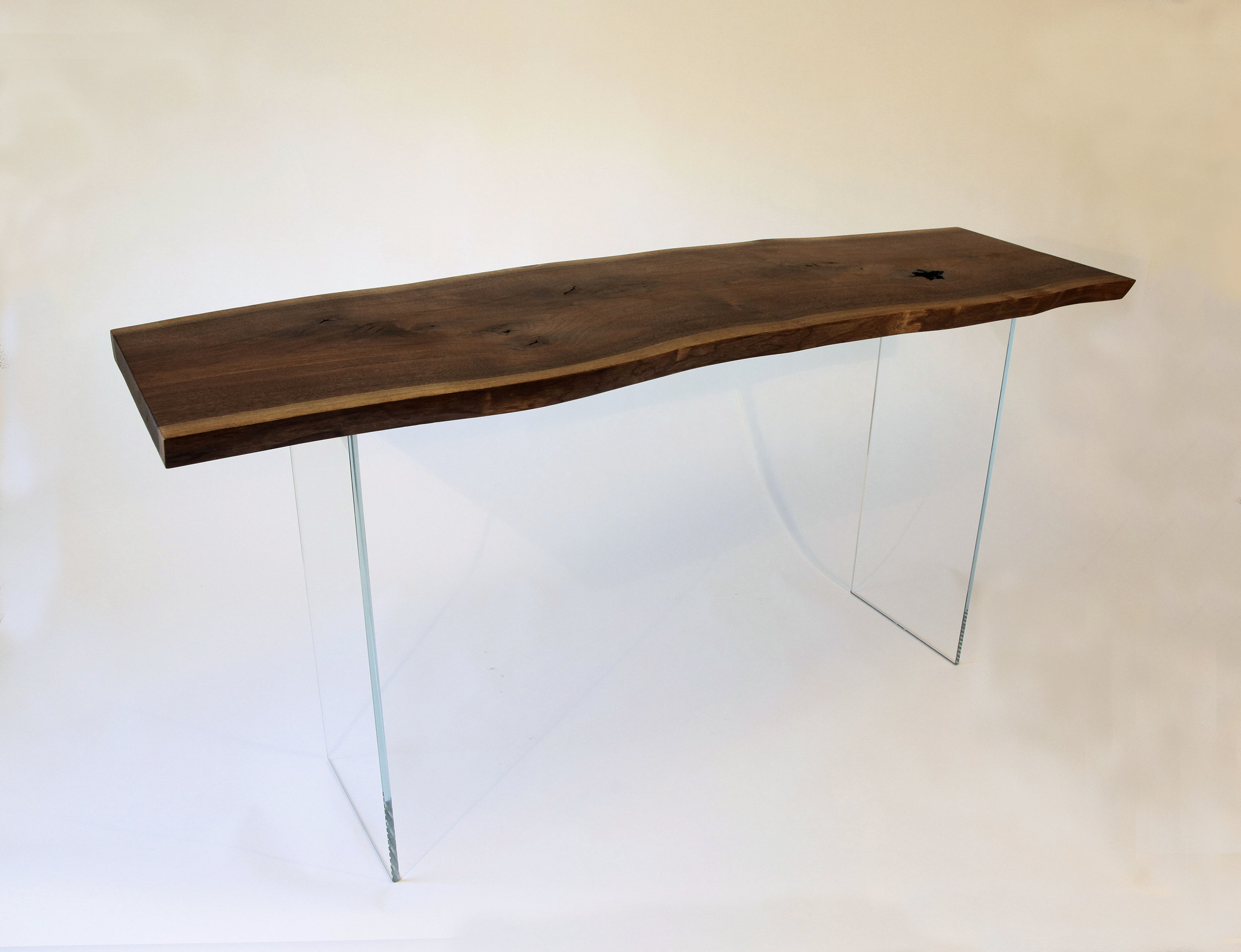 Jim Weitzel - Table W Glass Legs 2..JPG