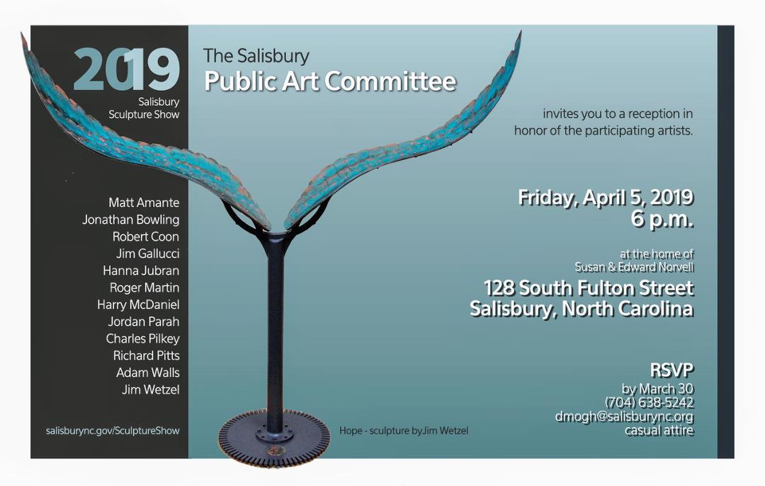 Salisbury Sculpture Show, 2019