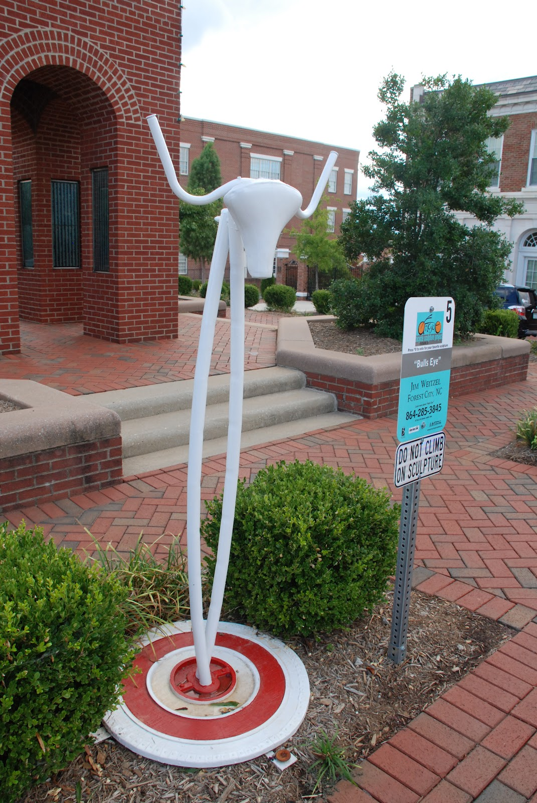 """""""Bulls Eye"""", Artcycle 2011, Spartanburg, SC"""
