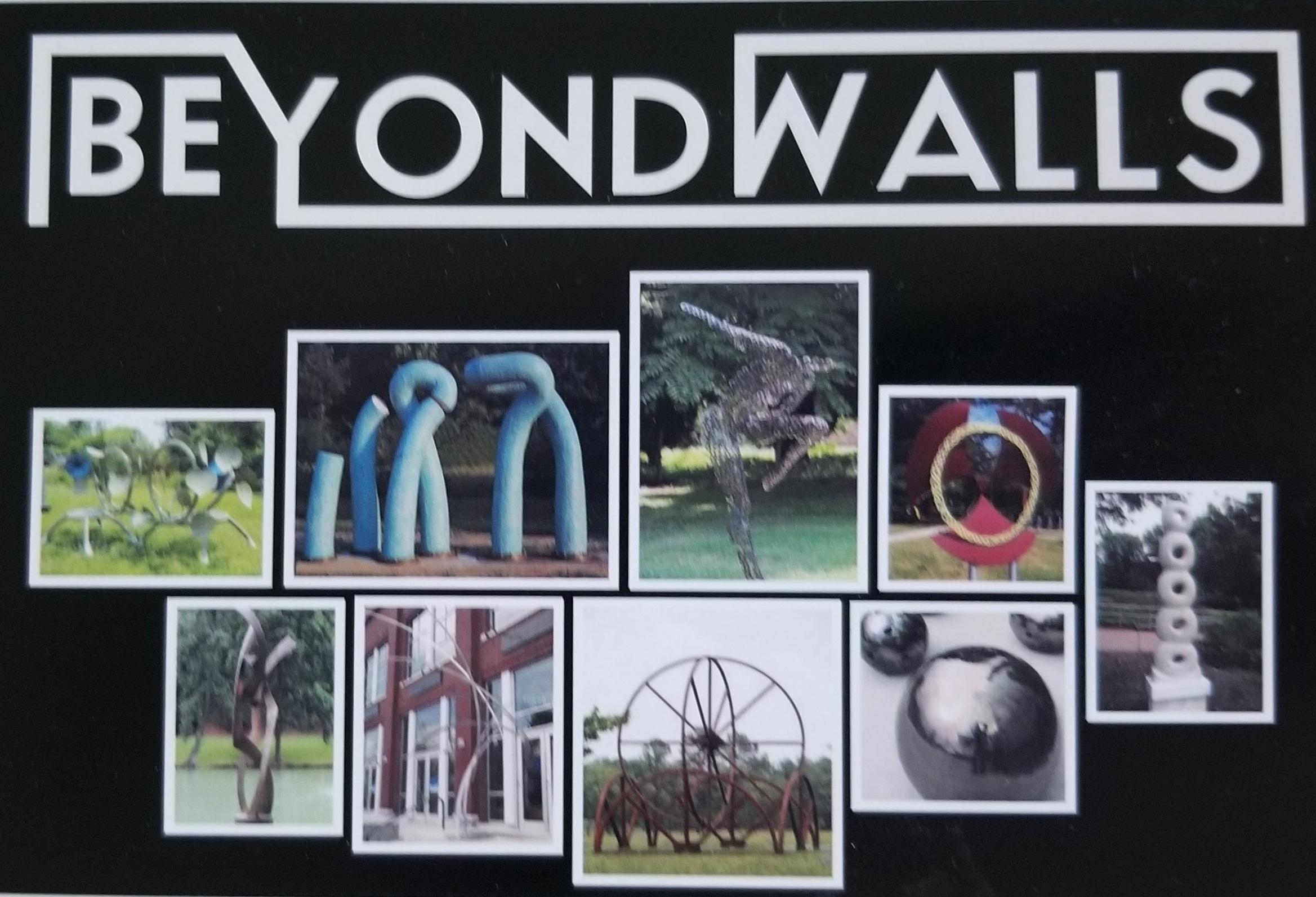 """""""Beyond Walls"""" Outdoor Sculpture Exhibit, 2015, Cornelius, NC"""