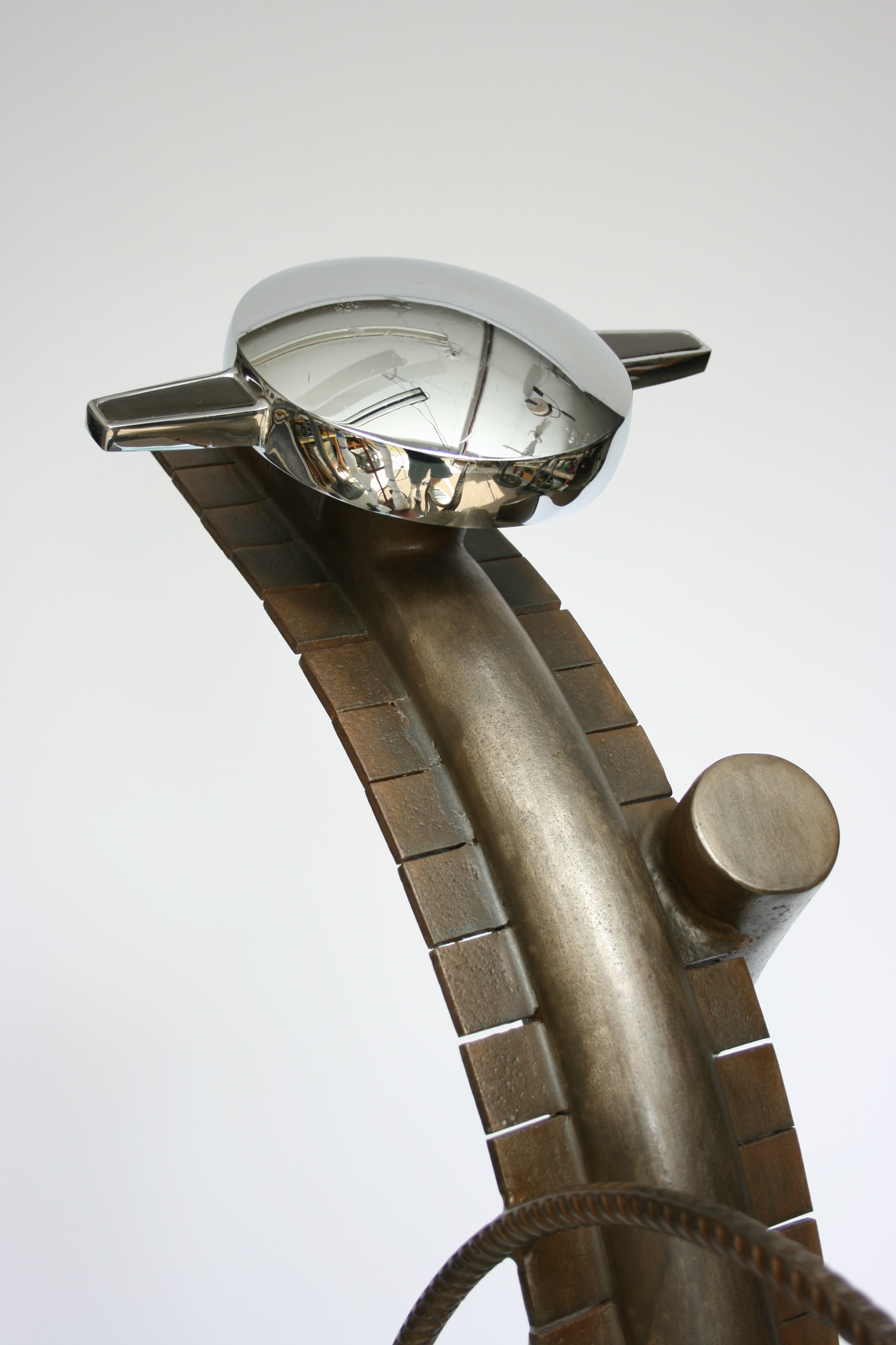 "Sculpture, ""Star Gazer"", detail"