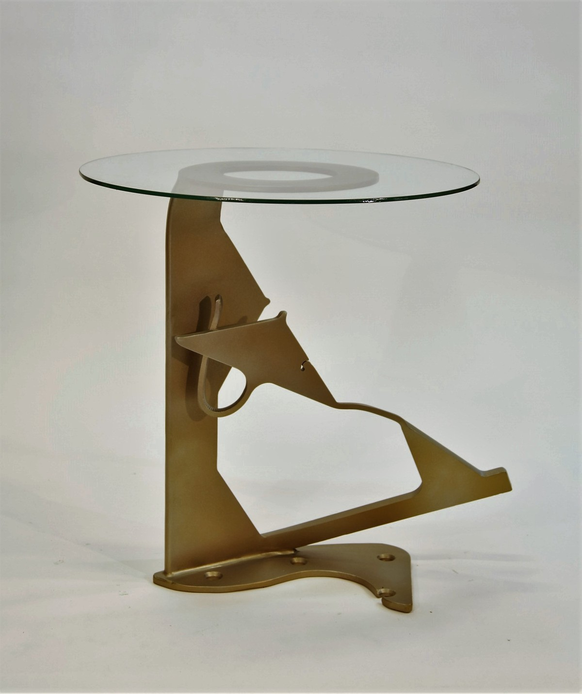SOLD- Side Table, created in collaboration with Sharon King.