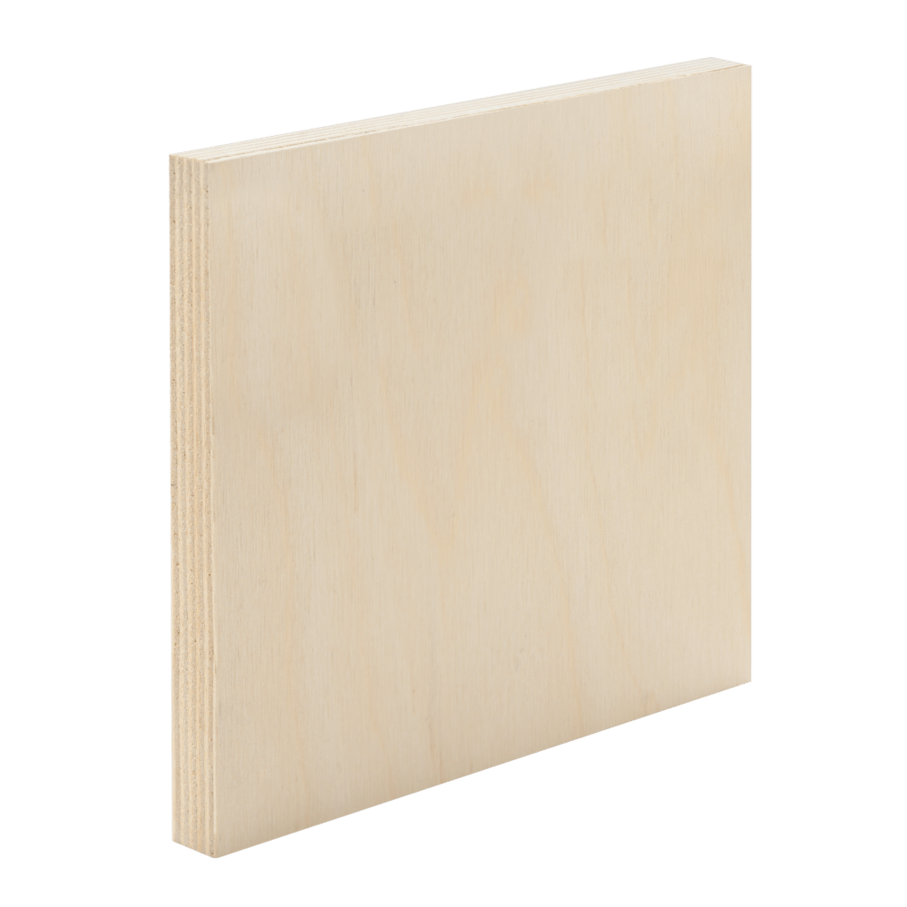 A Reliable Performer that Balances Quality with Price. - Our Birch plywood is crafted with high quality core materials sourced from Canusa certified mills. Birch is a reliable choice that is stable, strong and sure to perform in a wide range of applications, while remaining cost efficient.