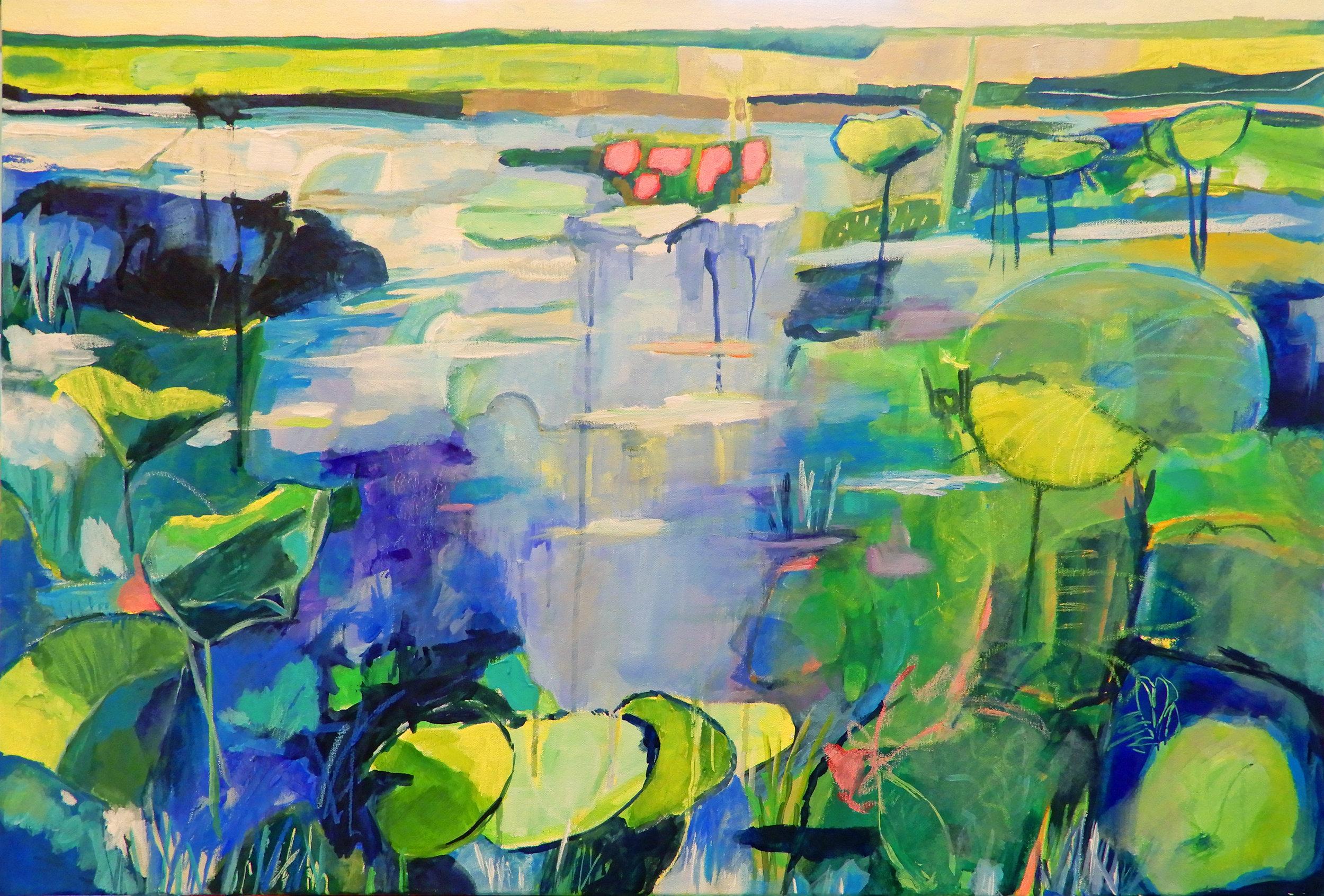 Lotus Fields II