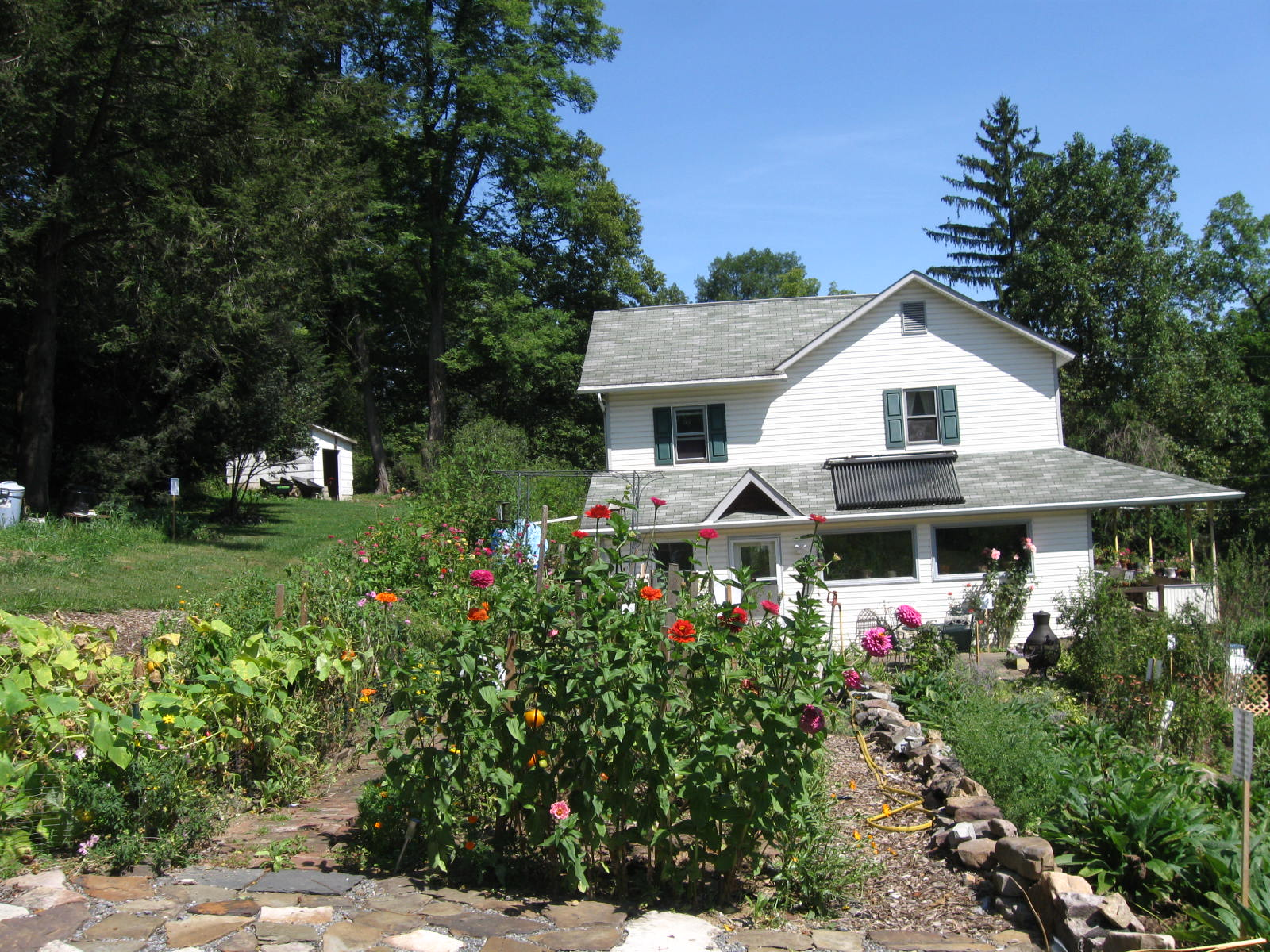 Historic home for classes, workshops, and retreats