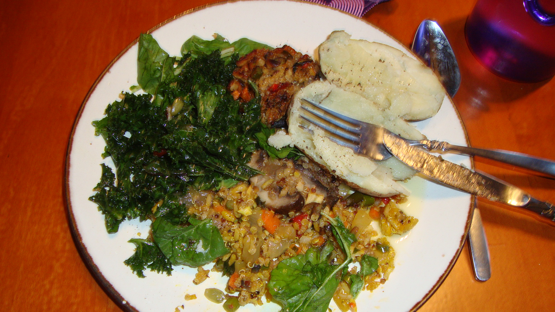 Delicious meals await those on retreat