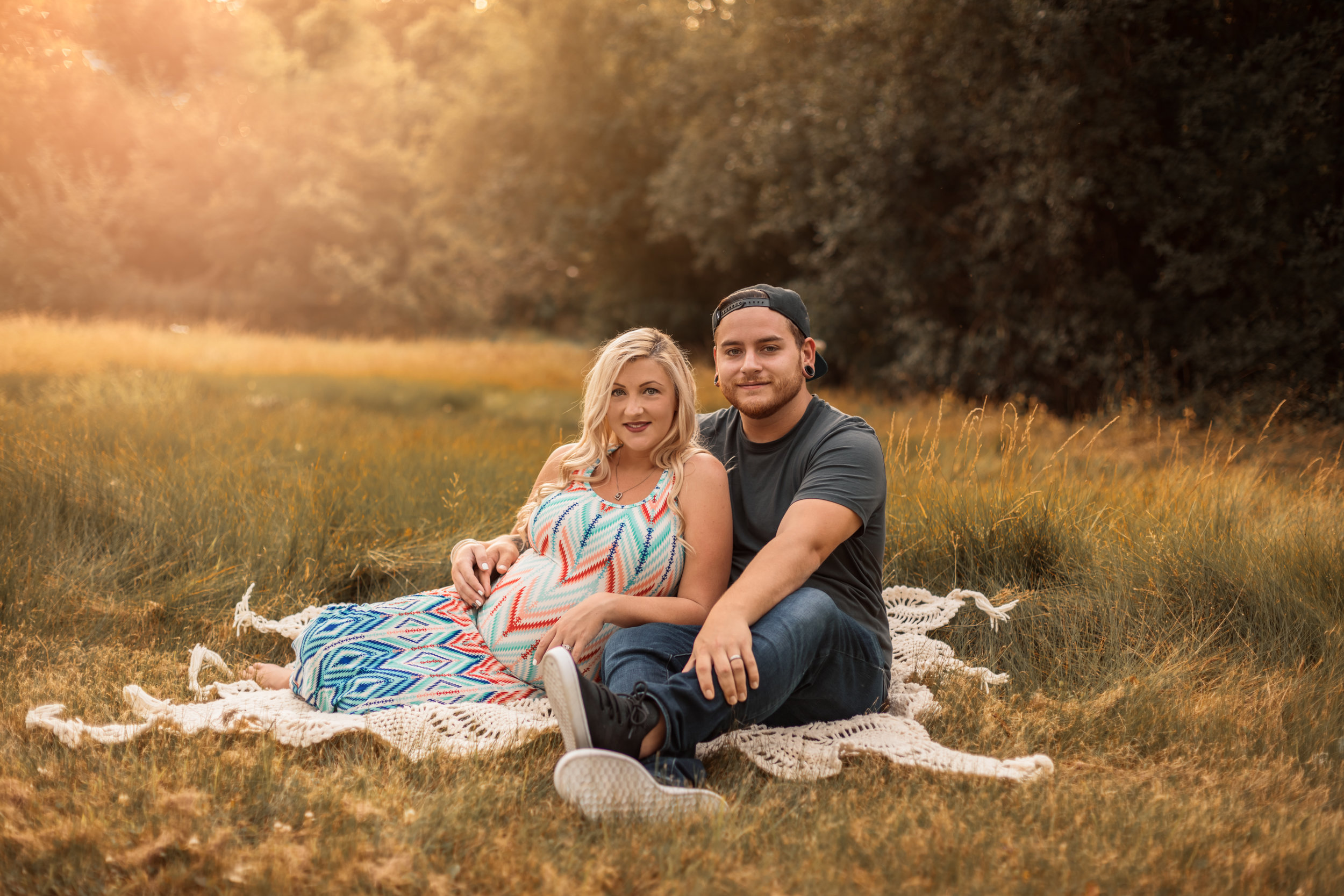 Shannon Revelle Photography, Michigan Maternity Session at Elizabeth Park, Trenton
