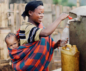 - When clean water is available right in her community, a mother will invest saved time in learning skills that create a sustainable income to support her family. Her children will go to school. Her family will be healthy and poverty will be a thing of the past.