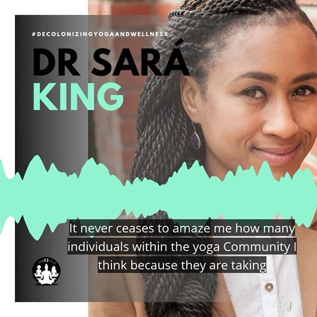 (Swipe!) Today is the day Decolonizing Yoga and Wellness went live! Today I'm spotlighting clips from @mindheartcollective @susannabarkataki and @yogawalla  from @yogaisdeadpodcast 🙌🏽 These women give me so much life and I'm so happy to spotlight them. From understanding racial trauma to cultural appropriation, these are not to be missed! Link in bio 💁🏽♀️#decolonizeyoga