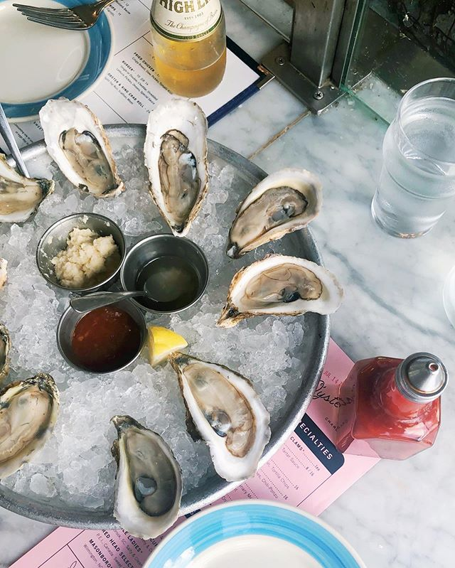 Hell-bent on tasting every oyster in Charleston this summer ✅