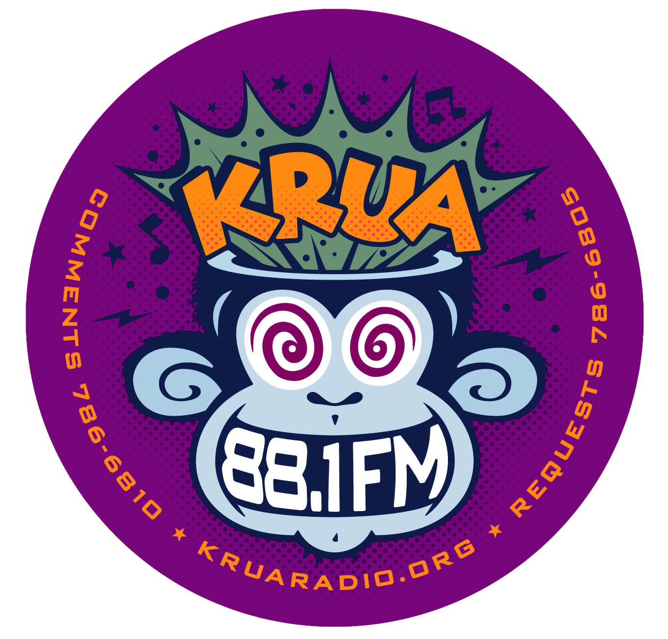 KRUA Purple Monkey Sticker.png