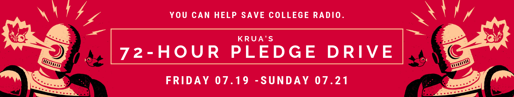 KRUA's 72-Hour pledge drive.png
