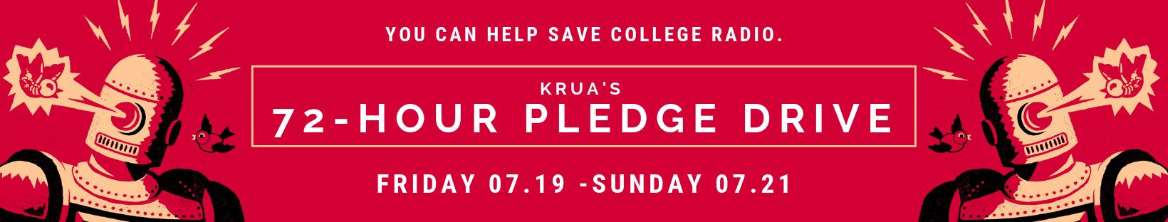 KRUA's 72-Hour pledge drive.png