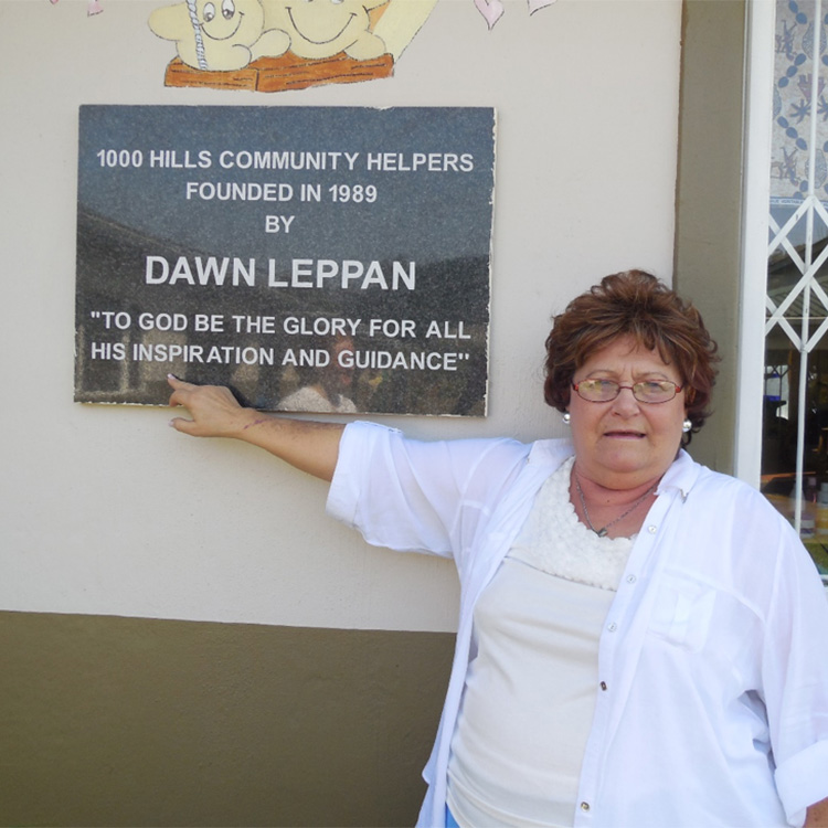 1000 HILLS - The Story of Dawn Leppan + CompassioNow
