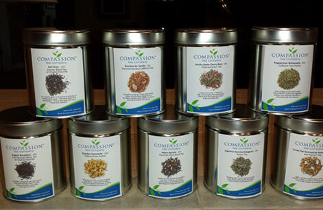 Compassion Tea Company - Share tea, save lives! 100% of after-tax profits for Compassion Tea support the life-saving work of CompassioNow.Buy a cup today!