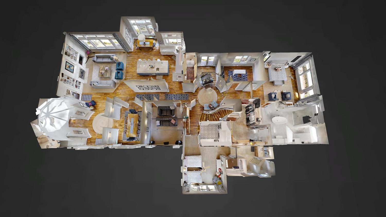 Enjoy a 3D virtual tour of the home -