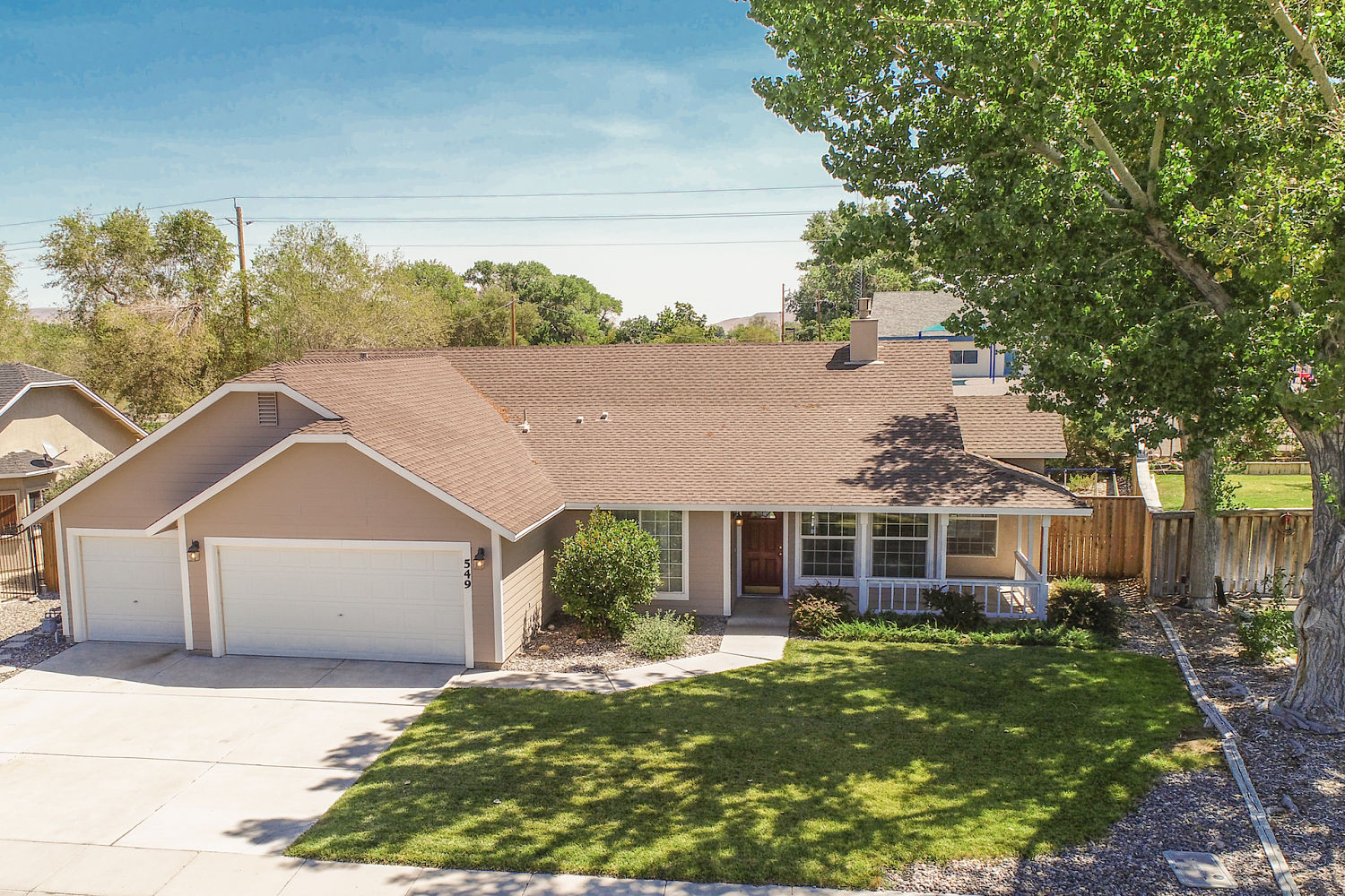 549 Wedge Lane, Fernley - sold on september 25, 2019 for $303,000