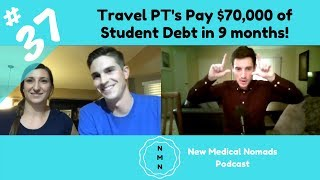 Travel Physical Therapists Pay $70,000 of Student Debt!