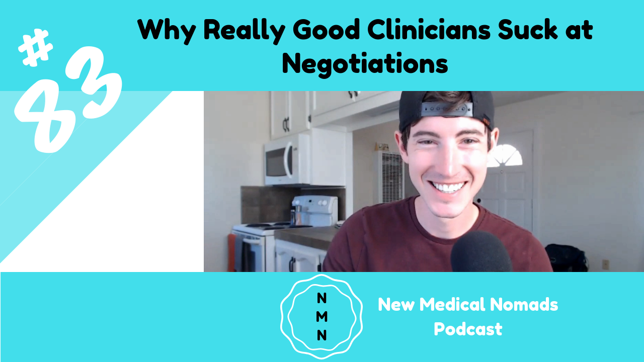 Why Really Good Clinicians Suck at Negotiations