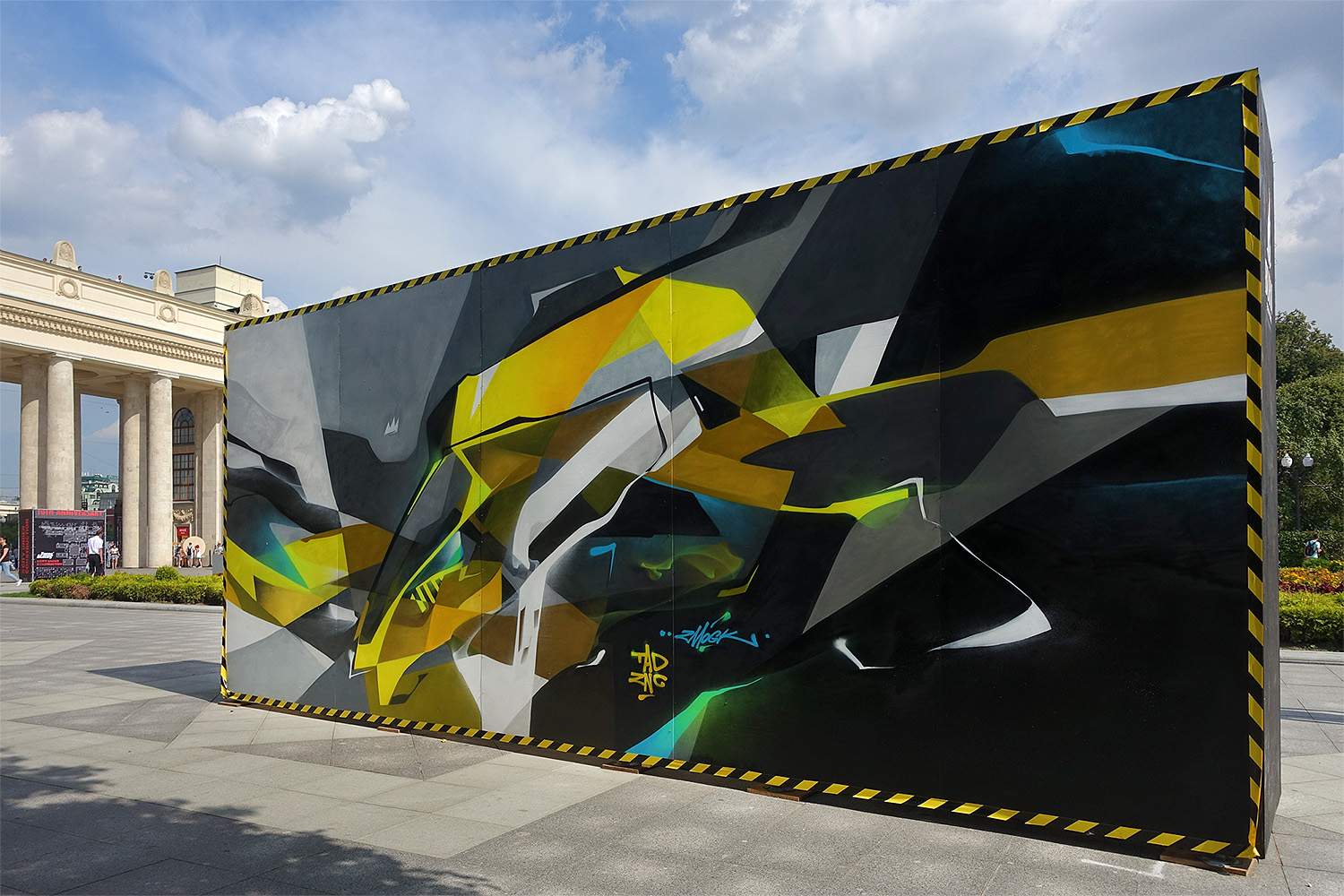 """2016 For """"Faces&Laces"""" festival, Moscow, Russia"""