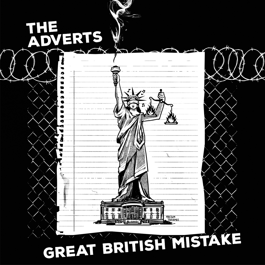 TWO DIMES     (The Adverts - Great British Mistake)