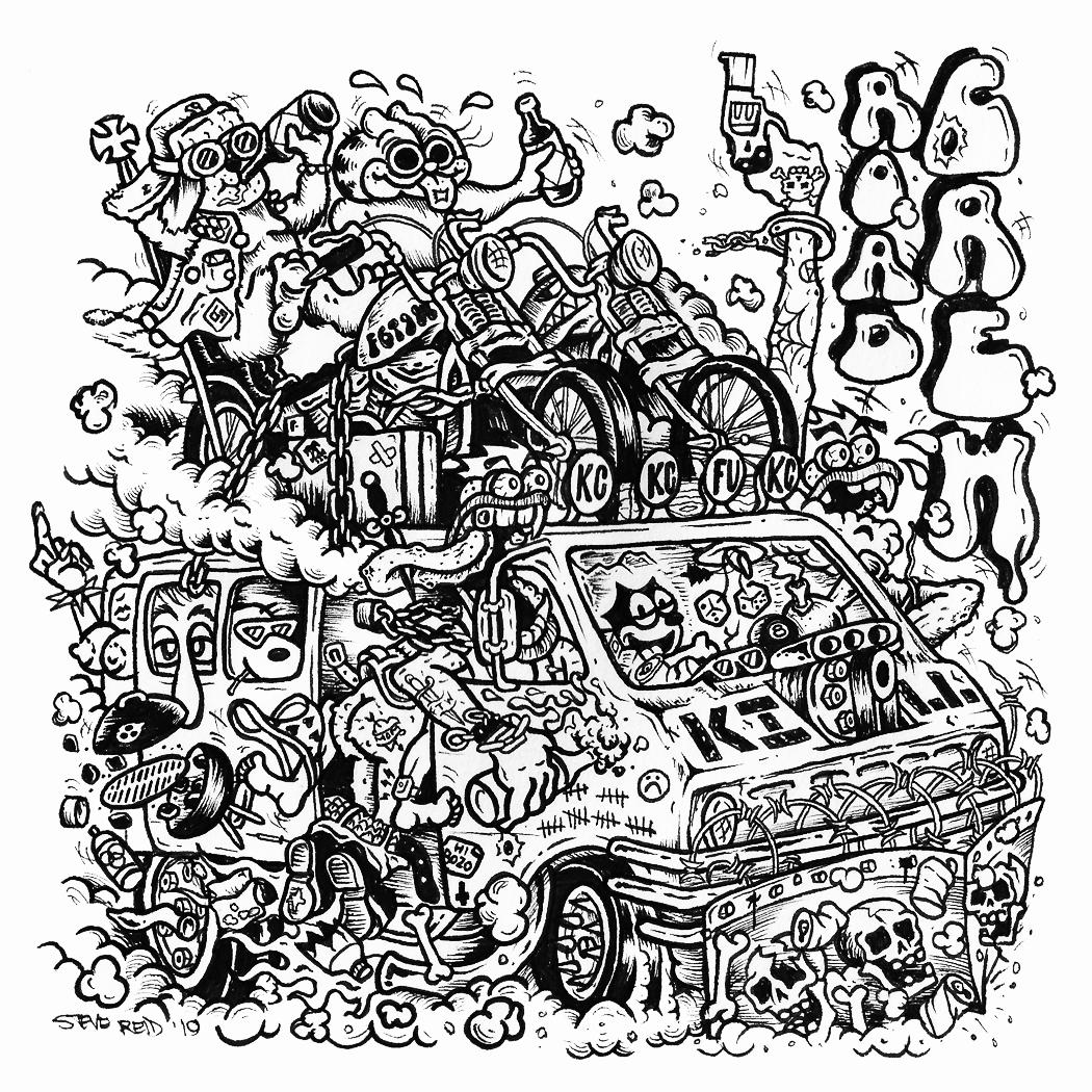 STEVE REID   (Motörhead - Road Crew)