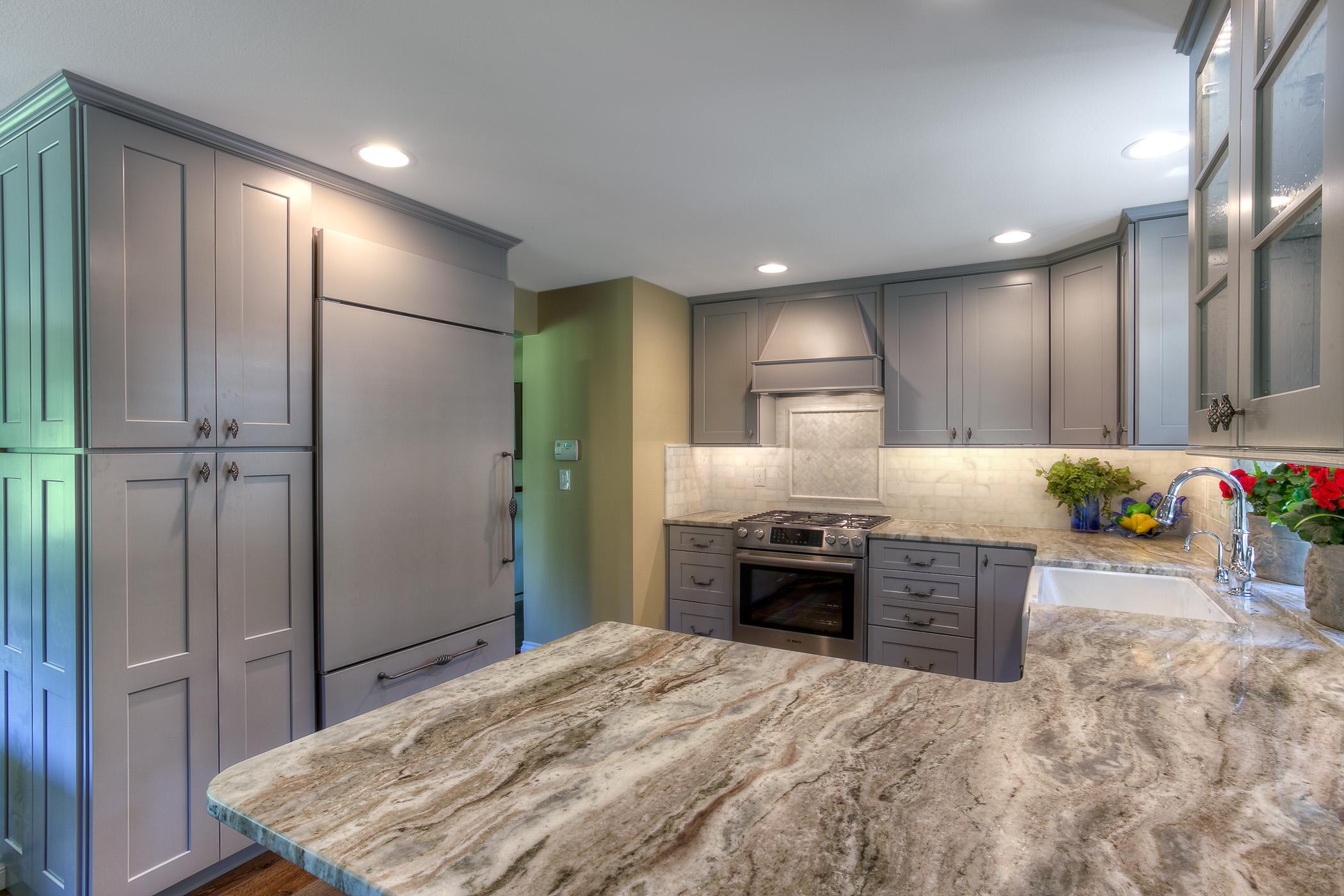 Grey Kitchen Upgrade