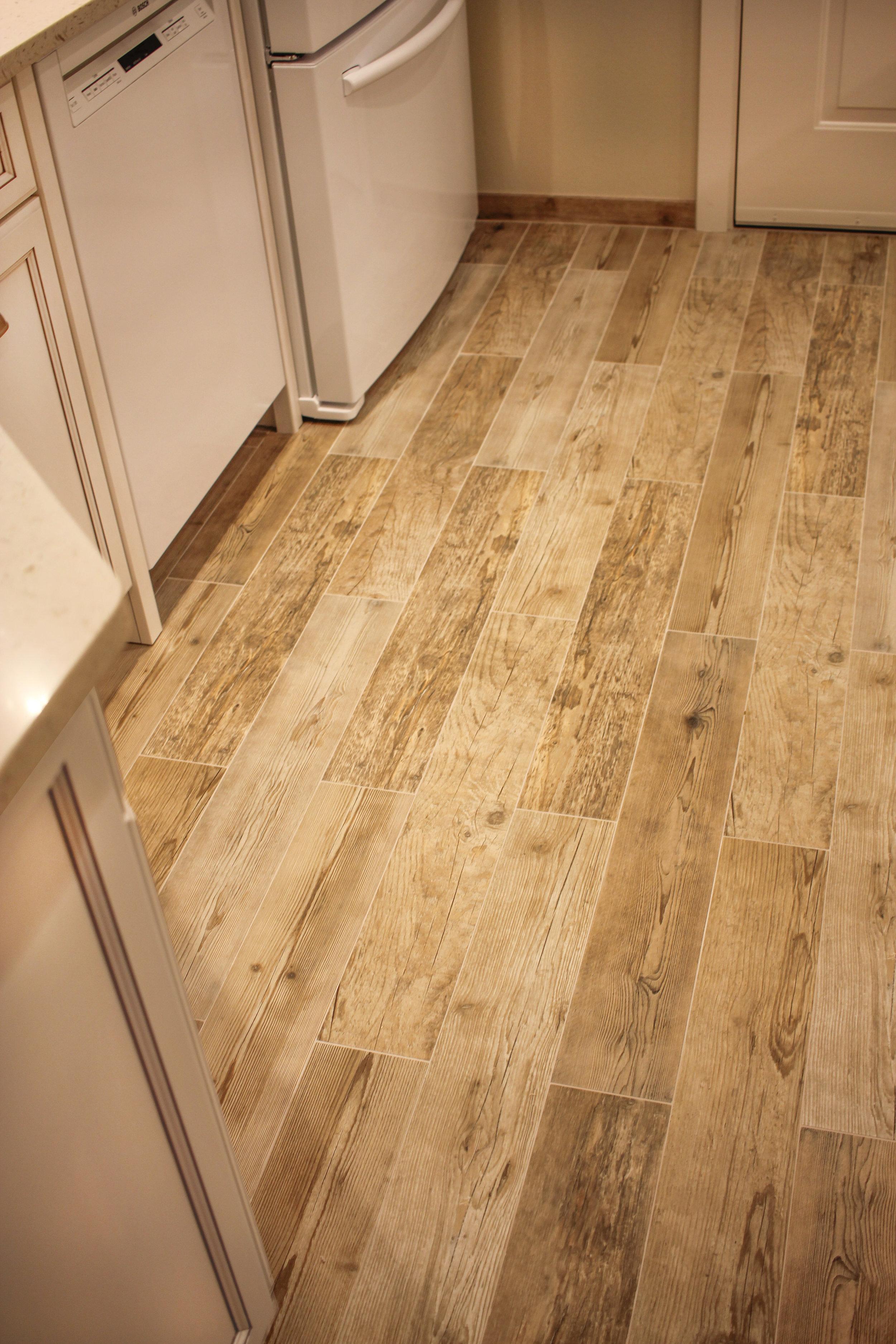 False Plank Flooring