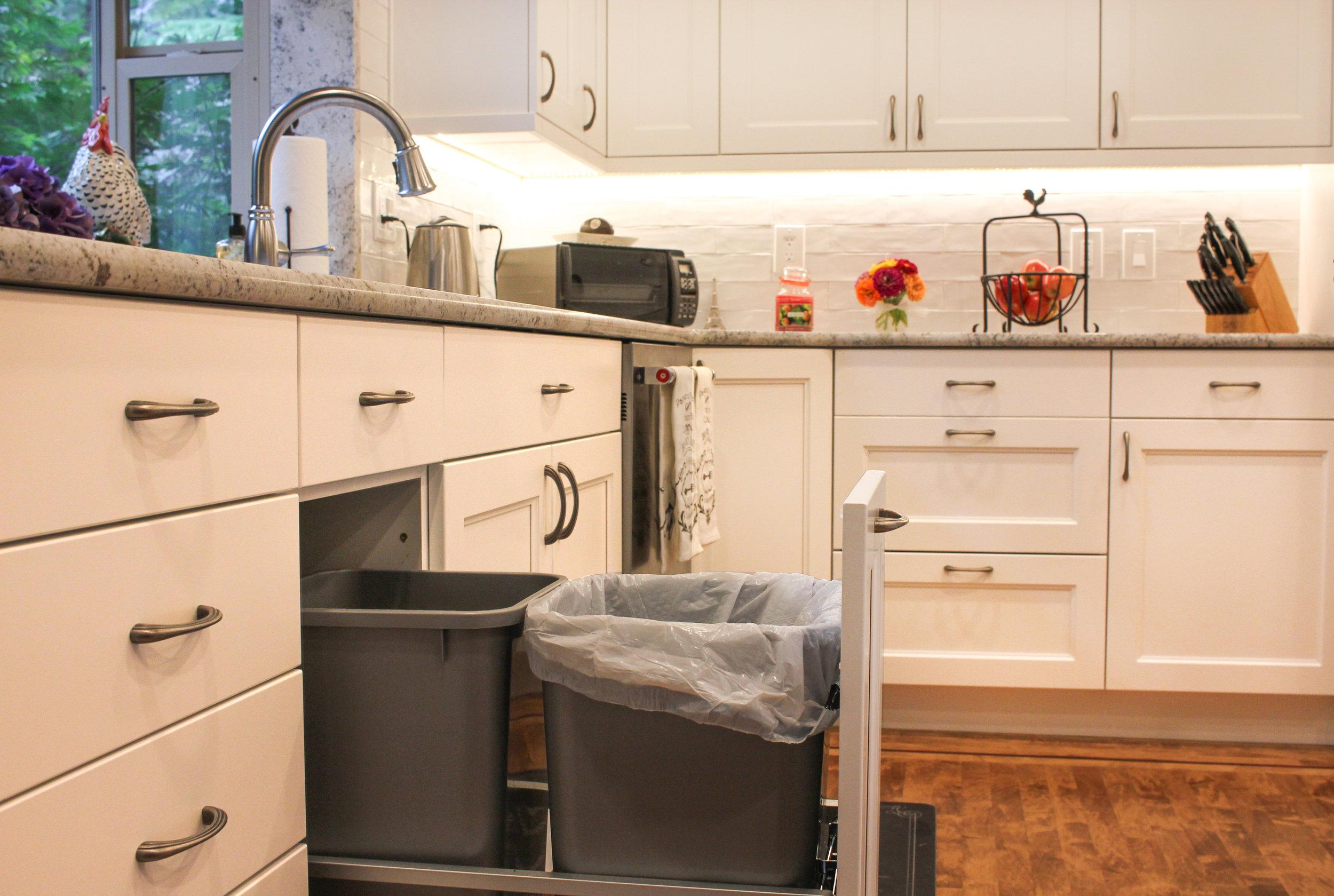 Custom Cabinet Features