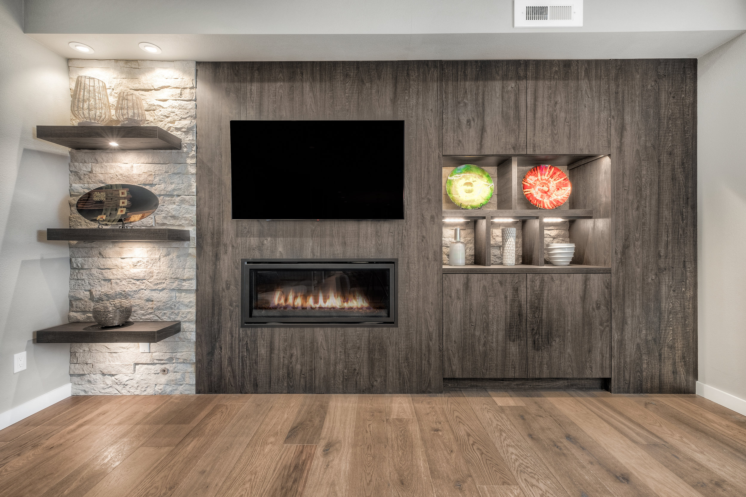 Fireplace & Flooring
