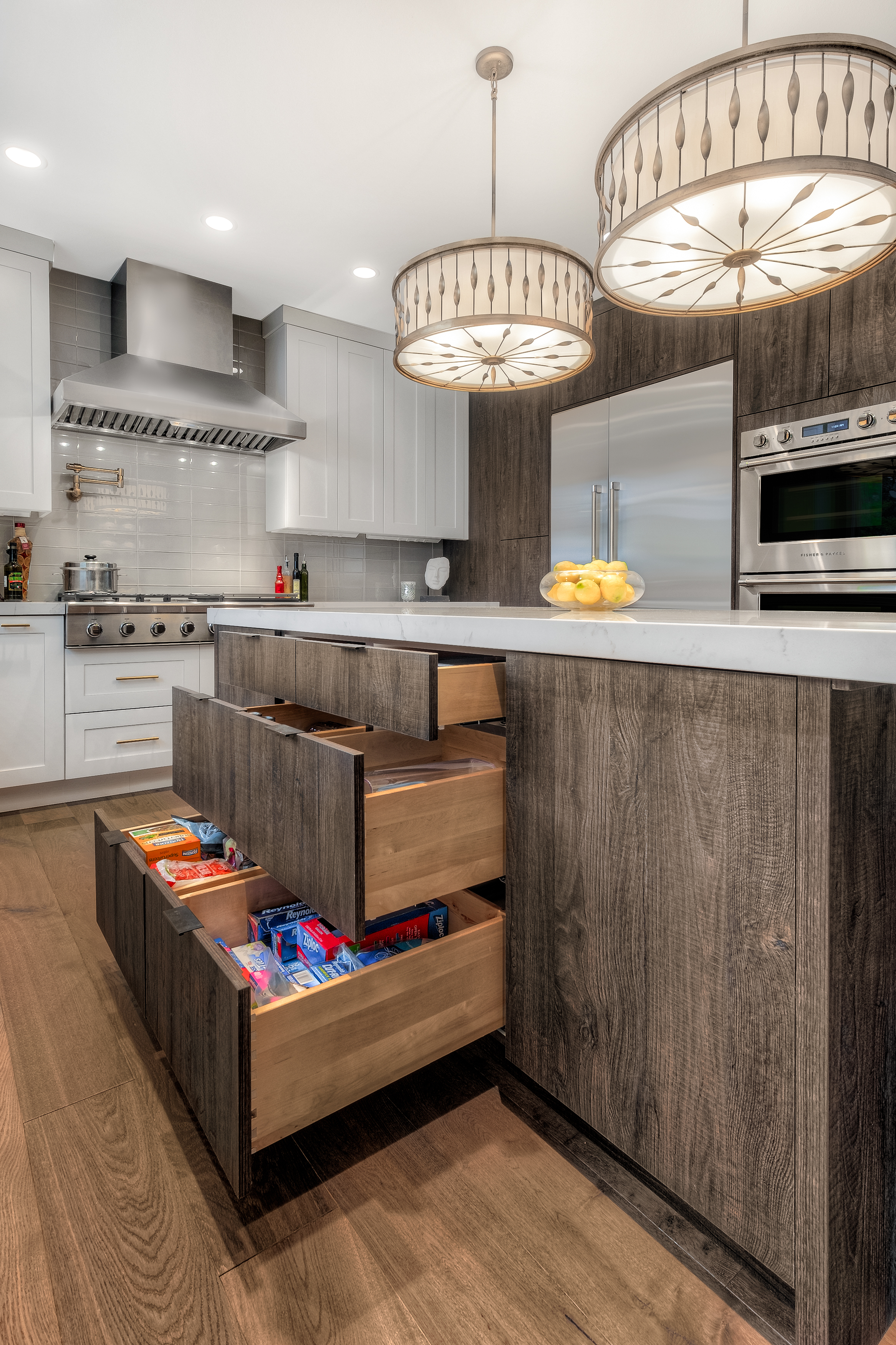Wood Stain Cabinets