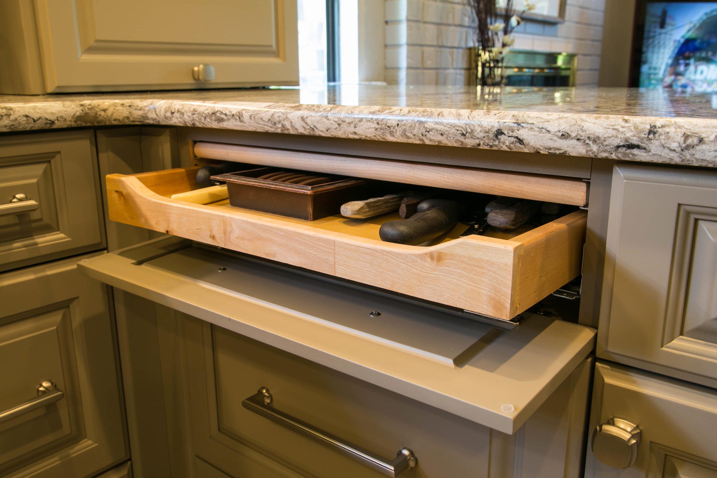 Unique Cabinet Features