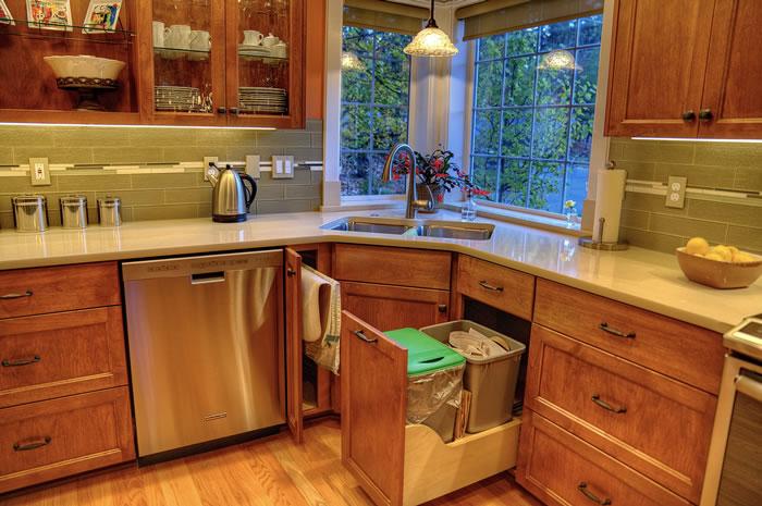 Custom Hidden Cabinetry