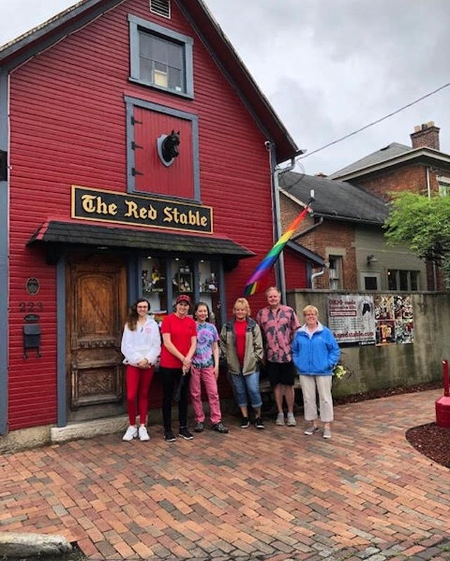 Enjoyed a fun walking tour with our friends at The Red Stable.  Check out this unique store, across from Schmidt's!