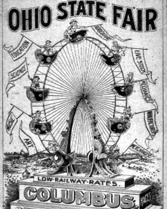 Did you know that twice in the 1800s, the Ohio State Fair was held at Schiller Park?