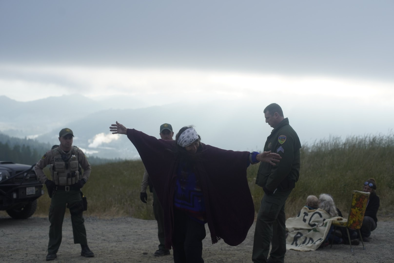 HEADWATERS ACTIVISTS JOIN YOUTH TO PROTECT RAINBOW RIDGE! -