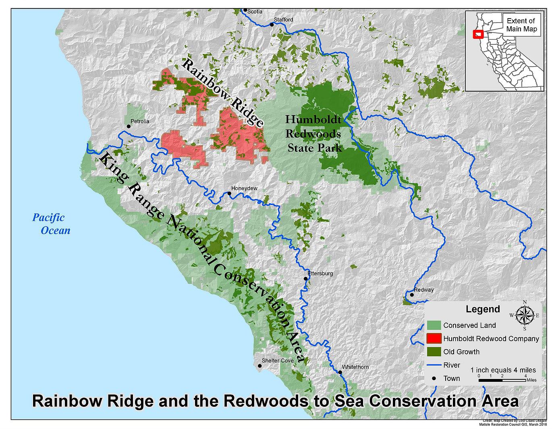 Rainbow Ridge is Global Concern -