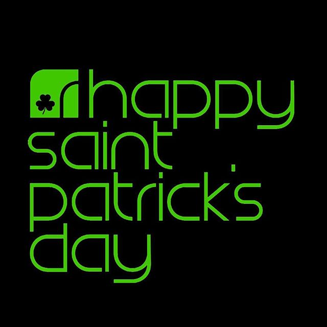 : Happy St. Paddy's Day!