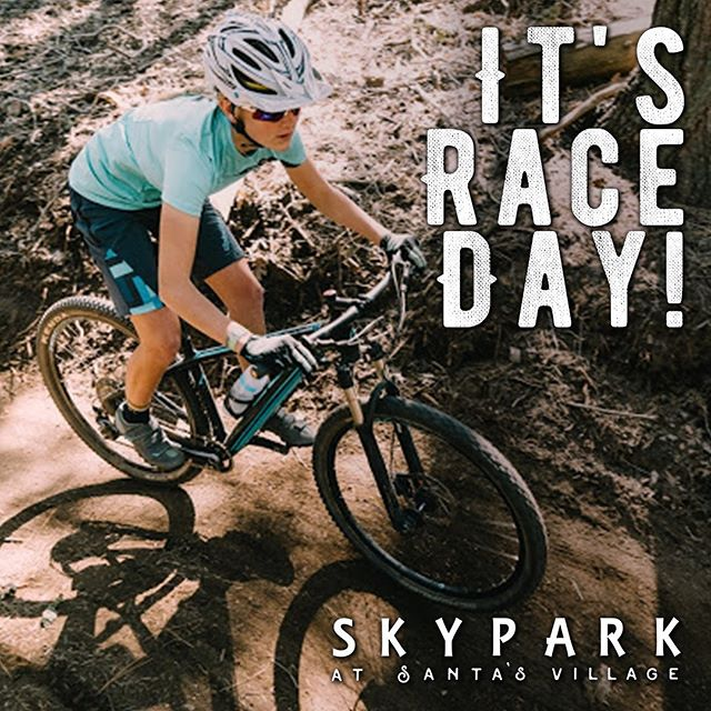 XC and Enduro racing at SkyPark this weekend!! August 10, 2019. Race one or race both! It's all included in your Park Entry Fee.  We're exciting by the Enduro format. As many runs as you can squeeze into 3 hours and we'll tally your best times for the total.  More info at @skyparksantasvillage. #skyparkbikepark #replaytiming