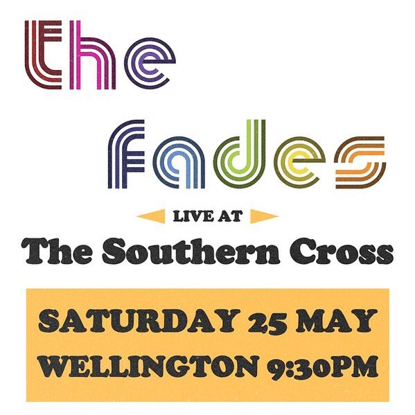 WELLINGTON! We've been busy laying down some vibes in the studio but it's time to get them out in the wild! Pop this bad boi in your calendar and come boogie with us! . . . #thefades #wellington #nzmusicmonth #discoverlivenz