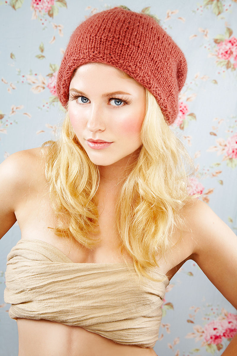 Young nordic woman with fresh look