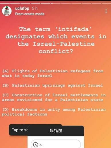 Source: UCL Friends of Palestine