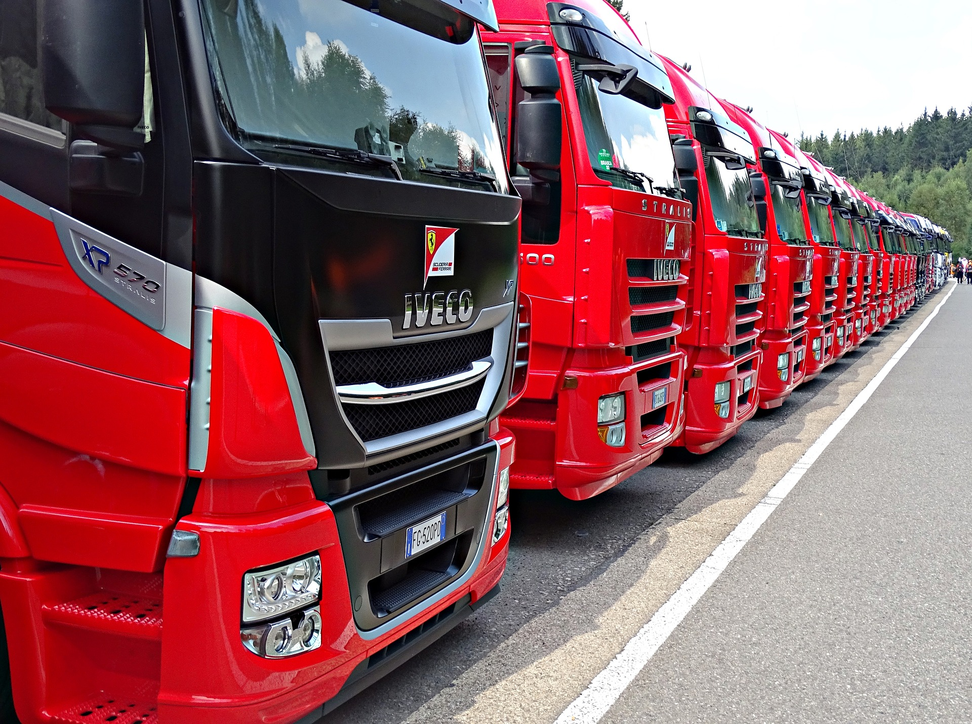 OUR VEHICLES - We have a full fleet of vehicles from small vans to articulated trucks, all of which have the latest satellite navigation and trackers installed. We have access to a wide range of additional vehicles of all types to suit your needs.