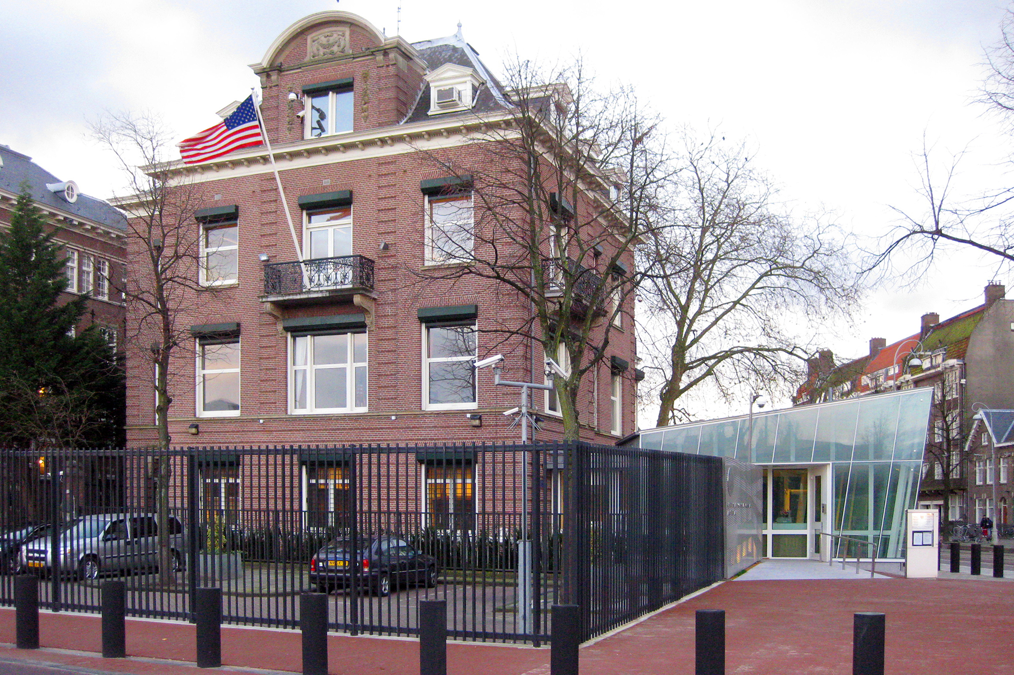 Compound Access Control Facility, US Embassy, Amsterdam
