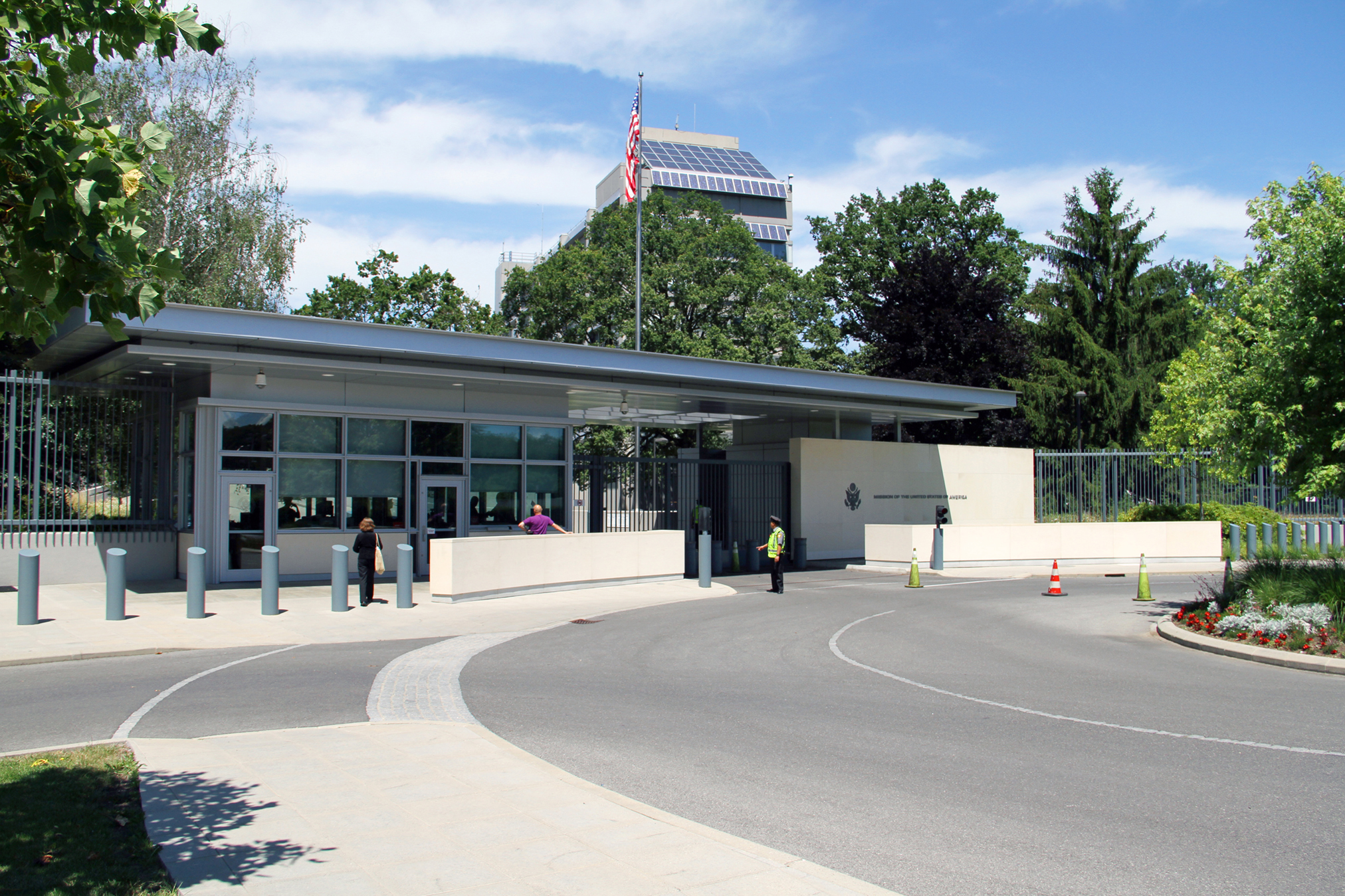 Compound Access Control Facility, US Embassy, Geneva, Switzerland